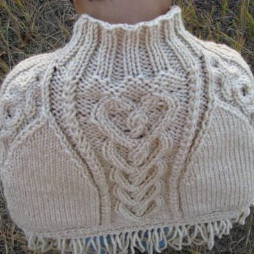 """""""Loved"""" Capelet"""