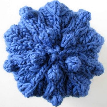 Project Yarnway: Bobble-5 (Hat 2)