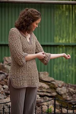 Interweave Knits: Pebble and Reed Tunic