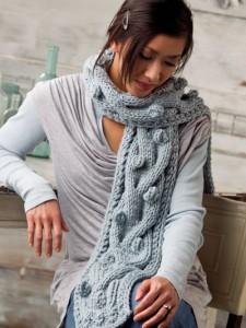 bobble-scarf