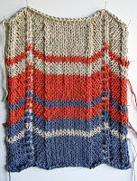 Chevron Sweater - swatch
