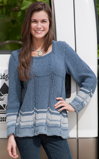Chevron Sweater (for Kollage Yarns)