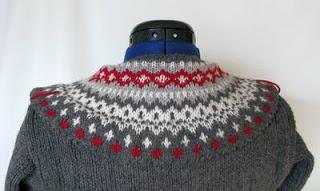 Collar around neck