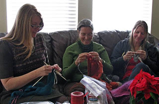 1st Annual Mile High Knitting Guild Xmas Potluck