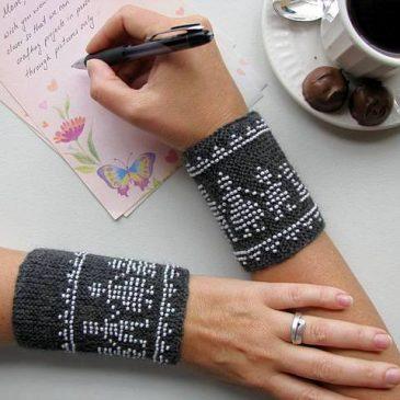 Beaded Family Wrist Warmers