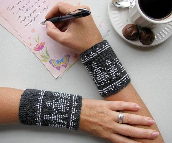Beaded Family Wrist Warmer