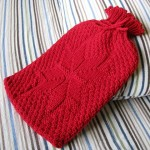 Snowflake Hot Water Bottle Cozy