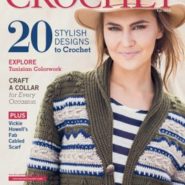 Interweave Crochet Fall 2014 Cover