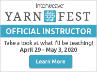 Interweave Yarn Fest logo